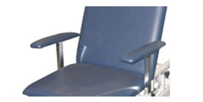 Examination couch removable arm rests