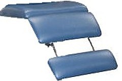 Podiatry Chair Extendable foot rest