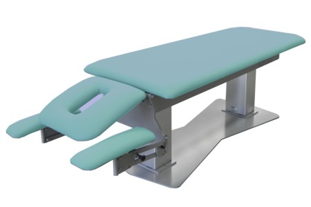 Manipulation Couch C 2 section with prone arm rests.