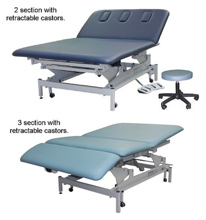 ABCO Neurological Couch with retractable castors