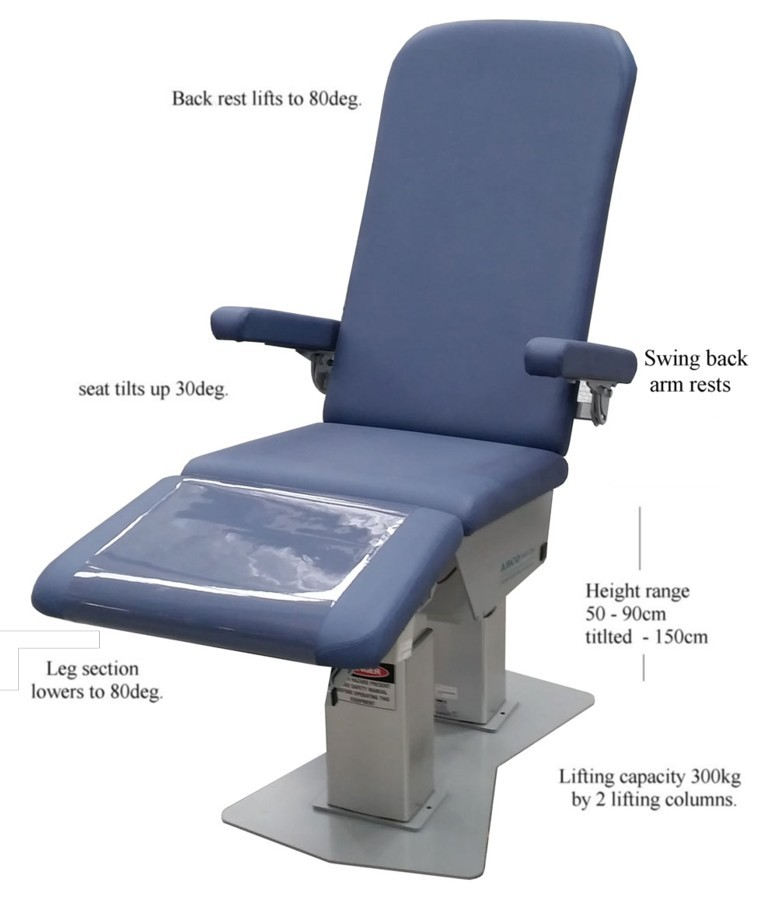 ABCO P40 PODIATRY CHAIR