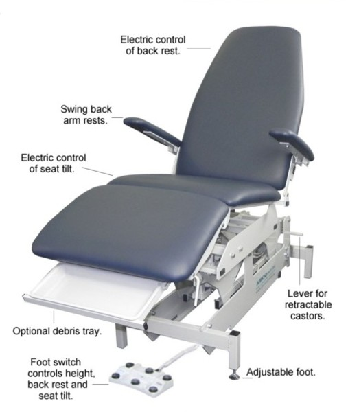 P30 PODIATRY CHAIR details